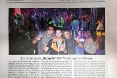 Presse SWR3 Elchparty 2018