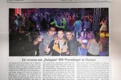 Presse SWR3 Elchparty 2018